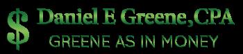 Daniel E. Greene, CPA Logo